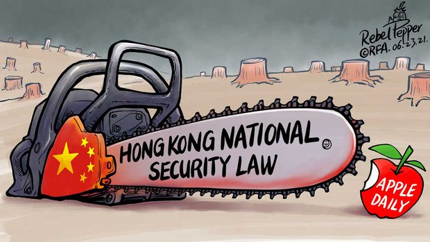 Cutting Hong Kong's Freedoms to the Core