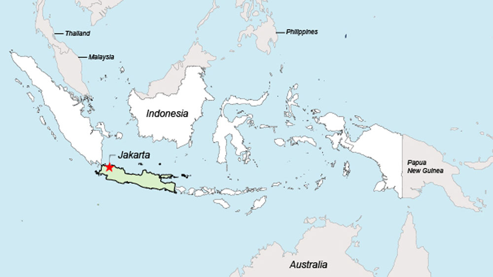 Indonesia and its Southeast Asian neighbors.