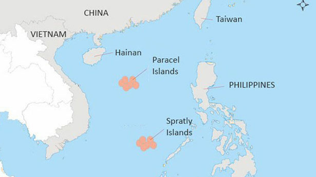 Two US carriers conduct exercises in South China Sea