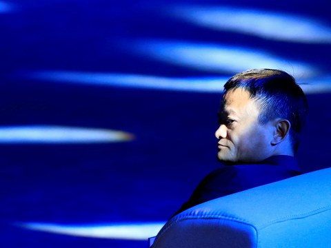 Alibaba Group co-founder and executive chairman Jack Ma attends the World Artificial Intelligence Conference (WAIC) in Shanghai, China, September 17, 2018. Picture taken September 17, 2018.