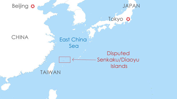 Map Of East Coast >> Japan May Face a New Chinese Onslaught in Dispute Over East China Sea Islets