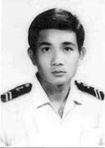 Nguyen Van Kiet as a young Navy SEAL in the South Vietnamese Navy. Photo: RFA