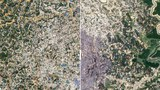 Before And After The Devastating Fire At A Rohingya Refugee Camp