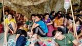 Photo Gallery: Civilians Flee Government Air Strikes