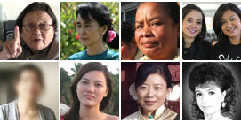 Women of Asia Display Strength