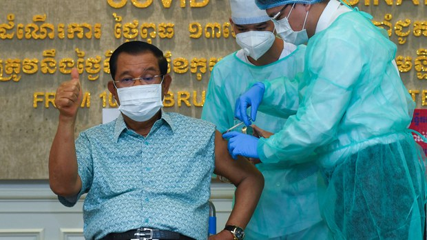 Cambodia's PM Hun Sen Congratulates Himself For Destroying Opposition in New Year's Address
