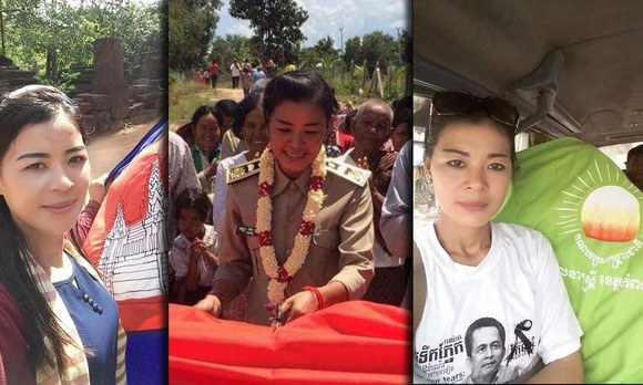 CNRP activist and former commune councilor Kem Tola is shown in undated photos.