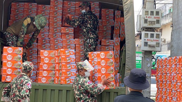 Cambodians in Coronavirus Lockdown Demand Assistance, Not Subsidized Goods