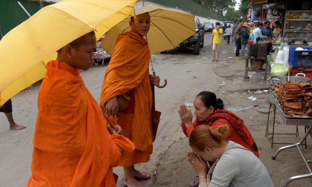 Buddhist Monk Beats Young Novices in a 'Viral' Video Circulating in Cambodia