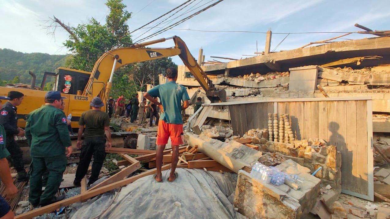 Cambodia building collapse toll rises to 29 as search enters 3rd day