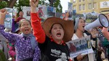 Cambodia Jails, Fines Two Land Rights Activists over Mannequin Protests