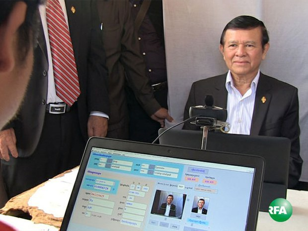 Cambodia National Rescue Party Leader Kem Sokha Briefly Leaves Party Headquarters