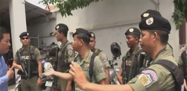 Cambodian Police Raid Opposition Party Headquarters