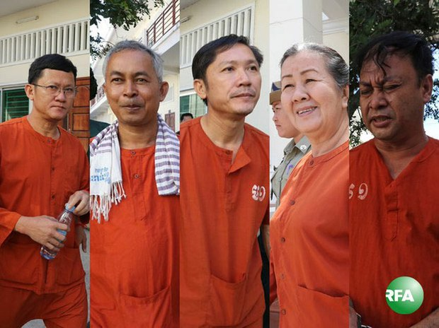 Cambodian Supreme Court Keeps Kem Sokha Five in Prison