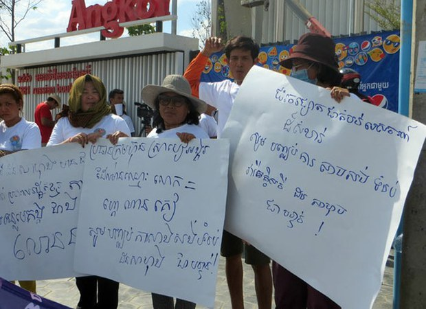 Cambodians Raise Questions About Angkor Beer's Involvement in Don Sahong Dam