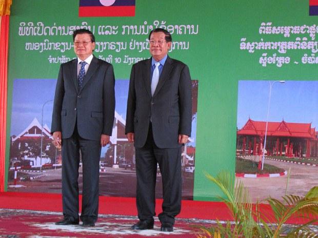 Cambodia's Hun Sen Thanks Laos for Cheap Electricity