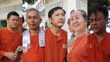 From left to right: Ny Chakrya, Yi Soksan, Ny Sokha, Lim Mony and Nay Vanda.