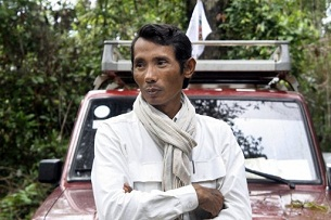 Cambodian environmental activist Chut Wutty in a photo taken June 20, 2011.