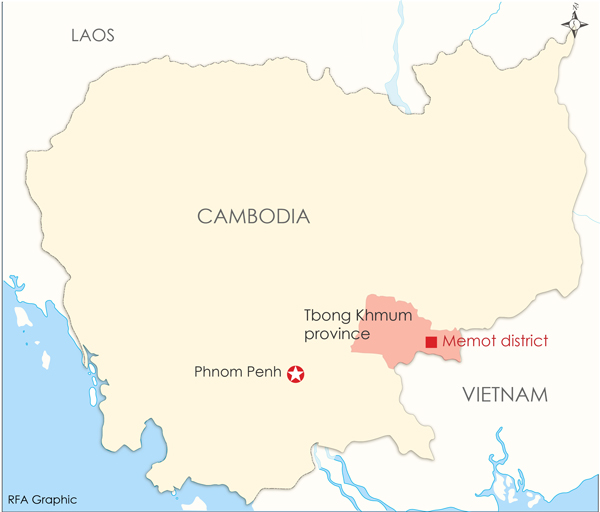 Cambodians and Vietnamese Clash Over Borderland