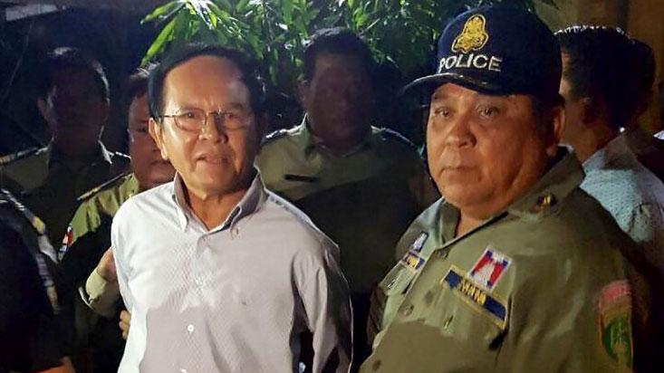 Kem Sokha - der Vorsitzende der CNRP als er Festgenommen wurde - We need Freedom Campaign - The Voice Refugee Forum