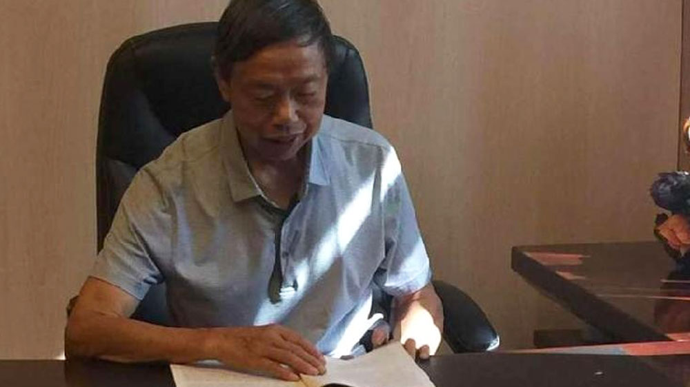 Zhao Mozhang, a municipal official in China's Chongqing and founding partner of the Chongqing Phnom Penh Trading Company.