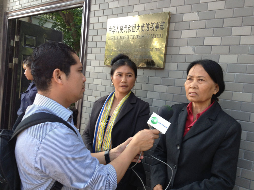 Cambodian Villagers Petition Chinese Embassy To Scrap Dam