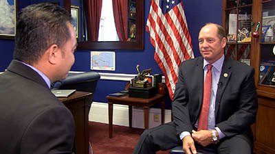 Florida Congressman Ted Yoho speaks with RFA in Washington, May 8, 2018. Credit: RFA former cnrp chief says his party will replicate malaysia's opposition victory in cambodia Former CNRP Chief Says His Party Will Replicate Malaysia's Opposition Victory in Cambodia cambodia ted yoho may 2018 400