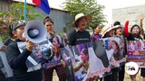 Monday Turns Black Again in Cambodia as Protests Restart