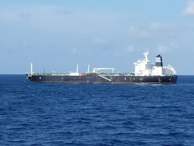 Indonesian Navy Holding Tanker, Crew Wanted by Cambodia for Alleged Oil Theft