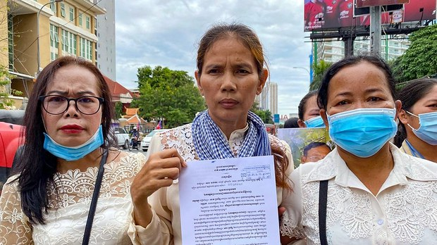 Wife of Jailed Opposition Activist to Continue Fight For Release as Cambodia Snubs Human Rights Day