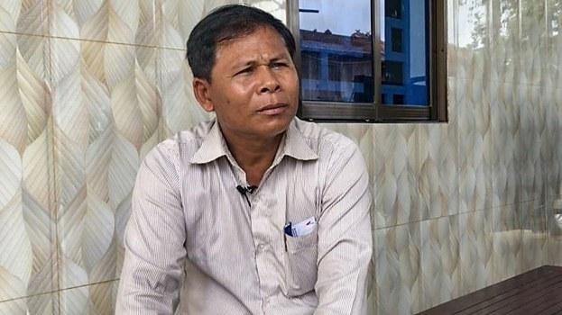 Sun Thun in an undated photo. Credit: Sun Narin/VOA Khmer