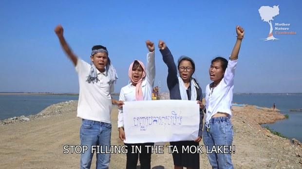 Cambodia Sentences Five Environmental Activists to Jail For 'Incitement'