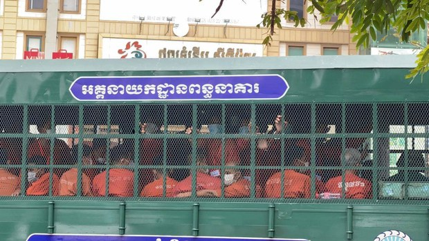 Cambodian Court Sentences Seven Opposition Activists to Prison in Absentia For 'Incitement'
