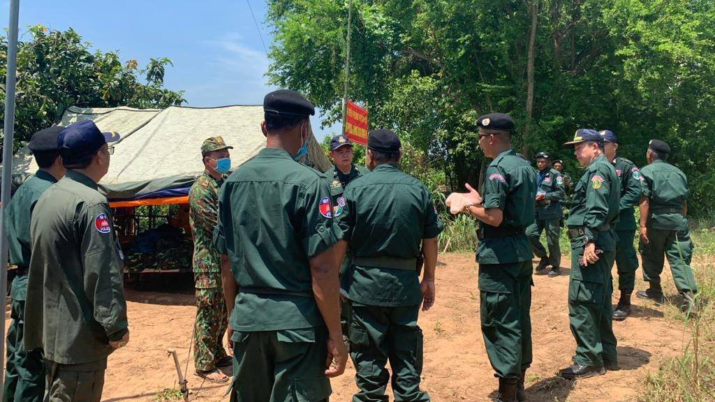 Vietnamese Military Shelters Remain in Disputed Border Area Despite Cambodian Diplomatic Protest