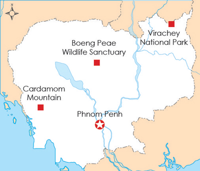 Try Pheap was granted land concessions in three preservation areas around Cambodia. Credit: RFA