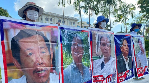 Wives of Jailed Cambodian Activists Petition US Embassy as Husbands Face Virus Outbreak
