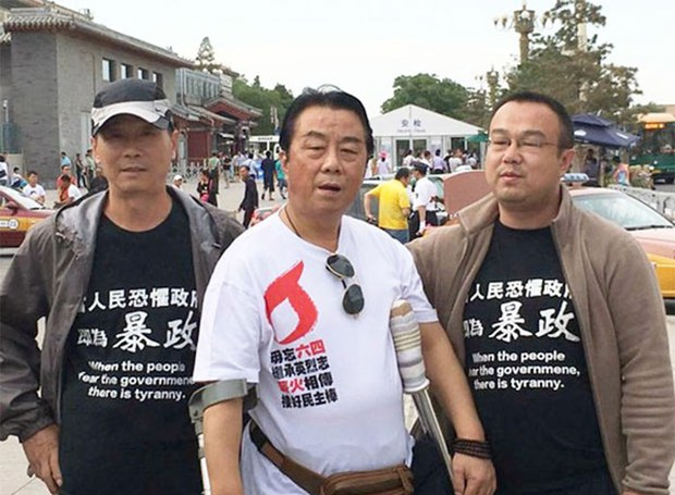 Activists Openly Mark Tiananmen Crackdown on China's Streets