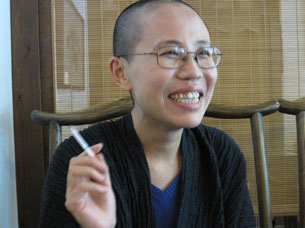 Liu Xia in Beijing, Sept. 28, 2010.