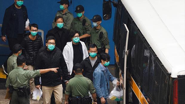 Marathon Hong Kong Bail Hearing Ends With 47 Activist Behind Bars