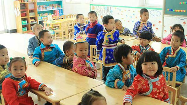 Banning Mongolian From Kindergartens Part of China's 'Cultural Genocide': Activists