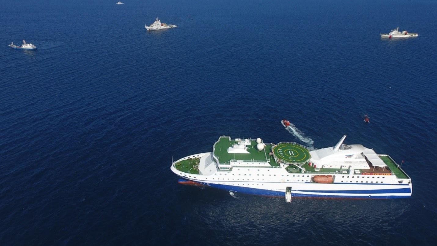 China Turning South China Sea Supply Ships into Mobile Surveillance Bases