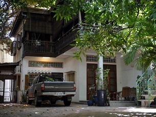Patrick Devillers' home in Phnom Penh, June 20, 2012.