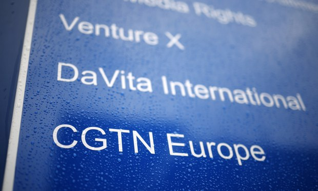 Media Regulator Bans China's CGTN Satellite Channel From Airing in UK