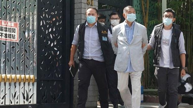 Hong Kong Pro-Democracy Media Magnate Jimmy Lai Behind Bars Over 'Fraud' Charge