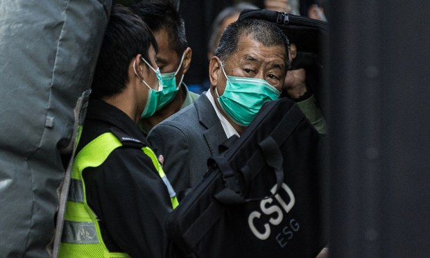 Hong Kong Media Mogul Jimmy Lai Rearrested on Further Charges