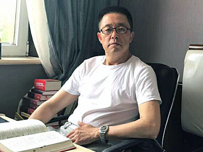Rights activist Gou Hongguo in an undated photo.