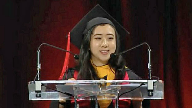 Chinese Student Apologizes For 'Fresh Air' And 'Freedom' Comments
