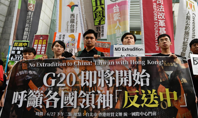 Hong Kong Closes Its Trade Office in Democratic Taiwan