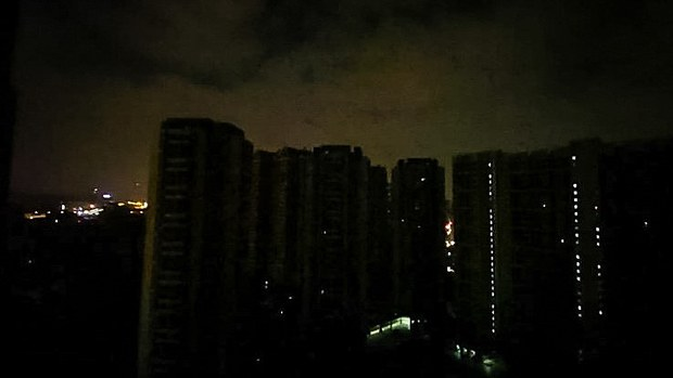 Guangdong Cities in Temporary Darkness Amid China Power Glitch