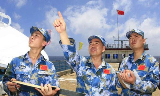 Chinese Navy Harvests Data From South China Sea